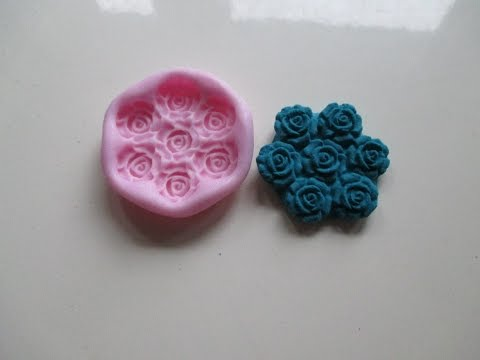 How to use silicone mold with clay