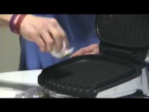Urban Bachelor Cooking Tips: Cleaning George Foreman Grill
