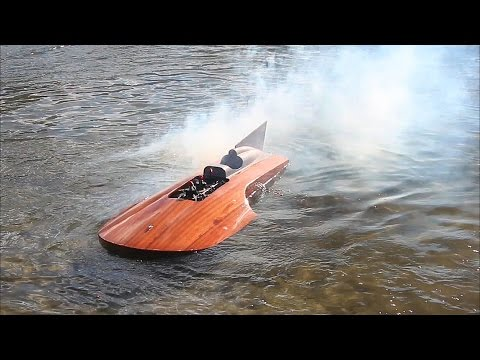 Best of RC boat crashes Achterdieksee Bremen 2015