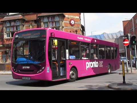 Buses Trains & Trams in Nottingham May 2018
