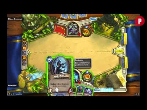 Hearthstone: Heroes of Warcraft Walkthrough - How To Beat Illidan Stormrage