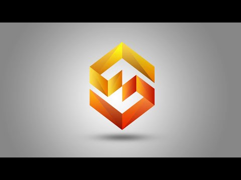 Photoshop Tutorial 3D Logo Design colorfull Gradient