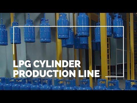 Complete LPG Cylinder Production Line | ROK Teknik