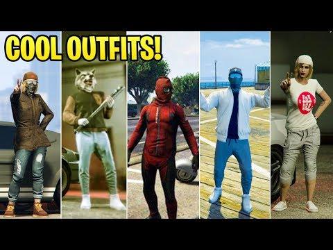 GTA Online FASHION FRIDAY! (Deadpool 2, Hotline Miami, WW2 & More)
