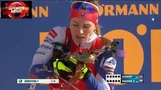 Amazing win !!!??? Biathlon Women's Pursuit 10km Holmenkollen 2019 23.03.2019