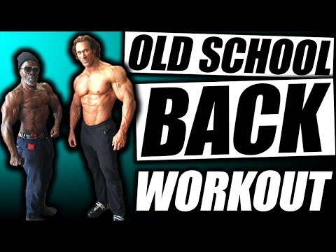Old School Back Workout | The Black Prince & The Titan