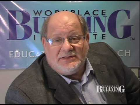 Dr. Gary Namie on Workplace Bullying: What it is and is not