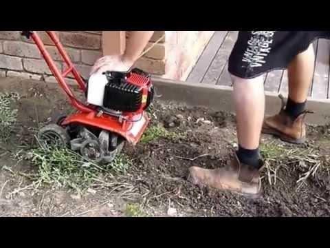 Gardening Equipment - Mini Tiller Heavy Duty 2.5HP Cultivator or Rotary Hoe
