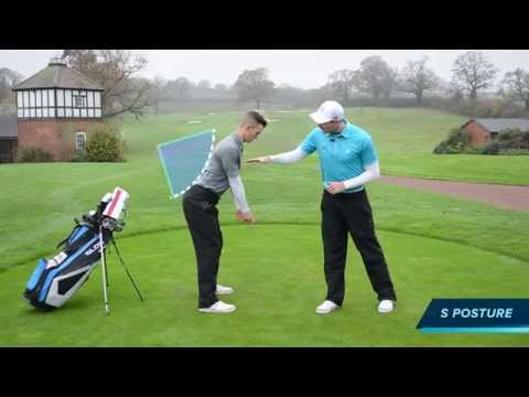 HOW TO CREATE A GOOD POSTURE FOR YOUR GOLF SWING