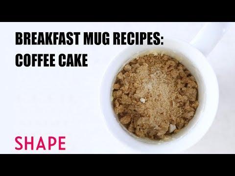 Breakfast Mug Recipes: Coffee Cake