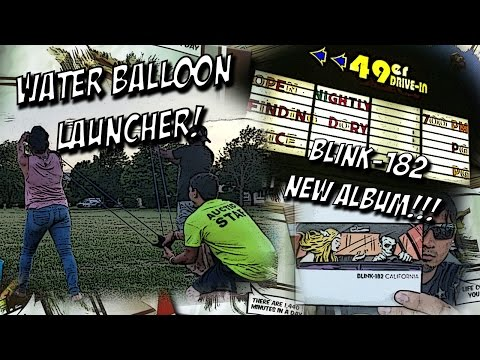 Water Balloon Launcher & First Time @ A Drive-In Theater! Plus 2 giveaways! 7.1.16