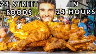 Download Eating 24 INDIAN STREET FOOD DISHES in 24 HOURS! Video