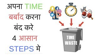 STOP WASTING TIME !! अपना TIME बर्बाद करना बंद करे 4 STEPS मे SeeKen