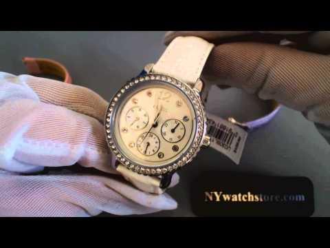 Women's Guess Interchangeable Leather Strap Watch Set U0309L1
