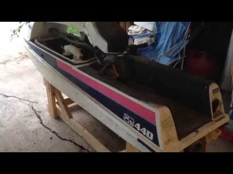 1990 Kawasaki 400 / 440 / 550 / 650 Stand Up Jet Ski Stand Build