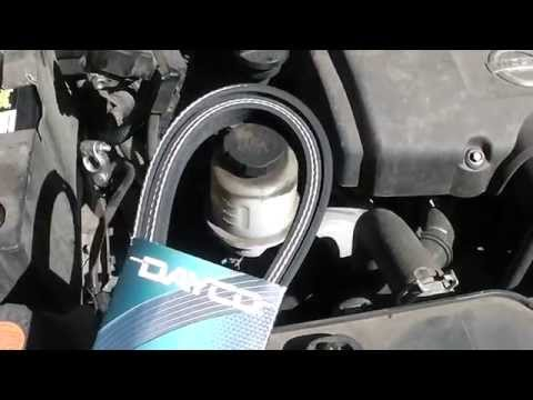 How to Change Serpentine Fan Belt on 2006 Nissan Titan