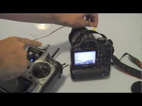 RC Video and Photo Shutter for Canon EOS 550D with Video Start/Stop