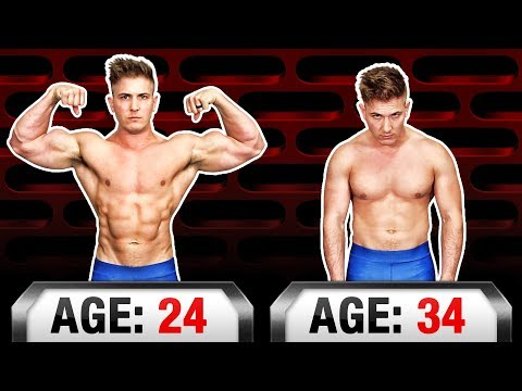 Massive Muscle Loss Just From AGING? (ALL GAINS GONE BY 40!?)