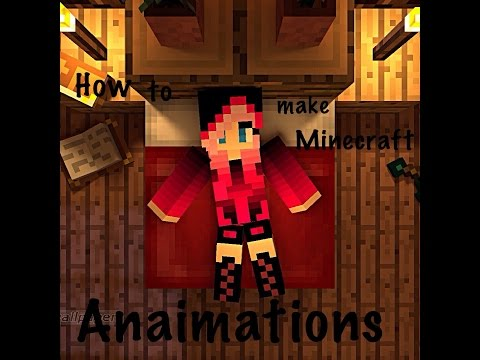 How To Make Minecraft Animations Simple With Your Skin In It