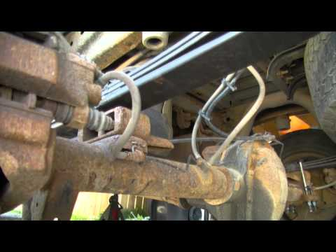 Ford F150 Rear Spring Replacment DIY