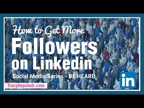How To Get More Followers On Linkedin #ReachMillions