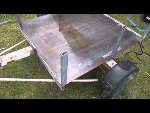 Boat Trailer To A Utility Trailer ( Custom Making )