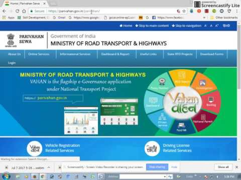 APPLY DRIVING LICENCE JHARKHAND GOVERNMENT