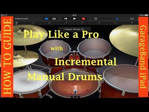 GarageBand for iPad Learn Incremental Drums