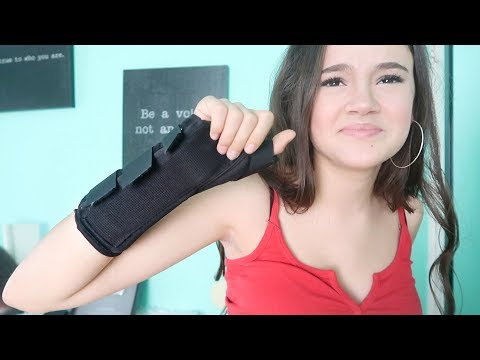 Yes I Did It Again! How I Broke My Wrist Storytime... FionaFrills Vlogs