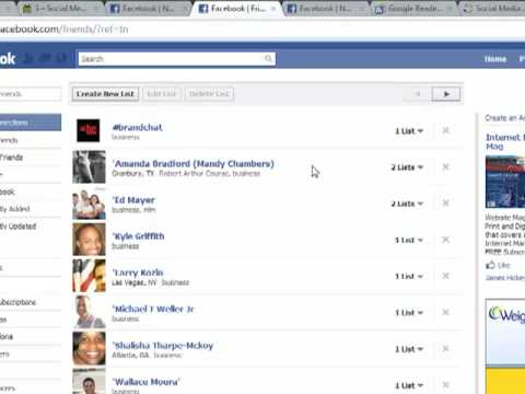 How to Manage Your Facebook Friend List in New Facebook Interface
