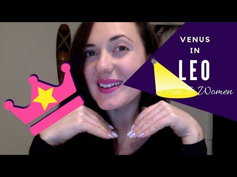 Venus in Leo Man or Woman