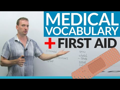Learn First Aid Vocabulary in English – It could save your life!