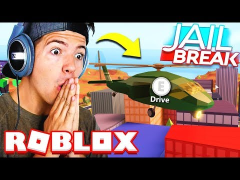 SPENDING ALL MY ROBUX ON THE NEW ARMY HELICOPTER!! Roblox Jailbreak Update