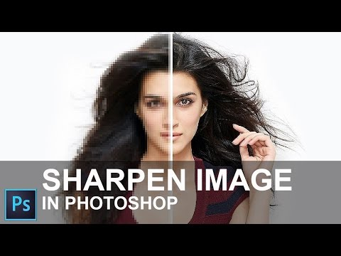 How to Sharpen Image in Photoshop CC 2015 [ In Hindi ]