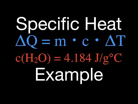 Thermodynamics (2 of  ) Specific Heat Capacity Calculations