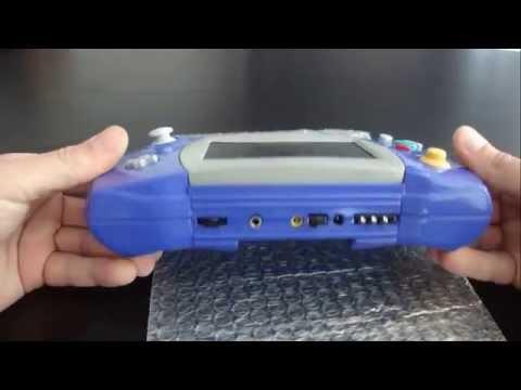 GC - Lynx, The Atari Lynx Shaped Gamecube Portable