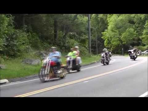 The 2016 Connecticut United 9/11 Memorial Motorcycle Ride