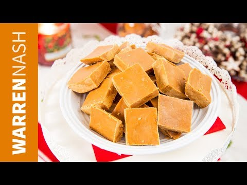 Easy Fudge Recipe - JUST 4 Ingredients - Made with Condensed Milk & Brown Sugar