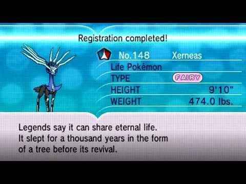 Pokémon X Battle Run - Encountering Xerneas, the Life Pokemon