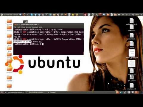 check Graphics Card type Ubuntu 12.10