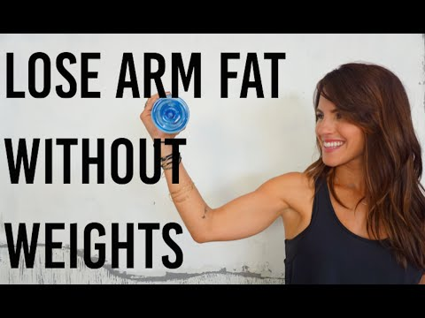 How to Lose Arm Fat (Barre Arm Workout) Part 2 - Best WORKOUT!