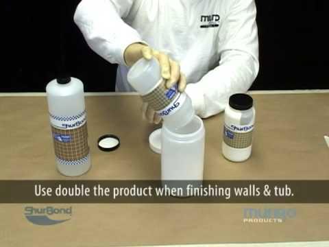 Fiberglass Tub & Shower Unit Refinishing