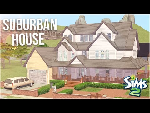 The Sims 2: House Build || Suburban Family Home || #DesignandDecorate