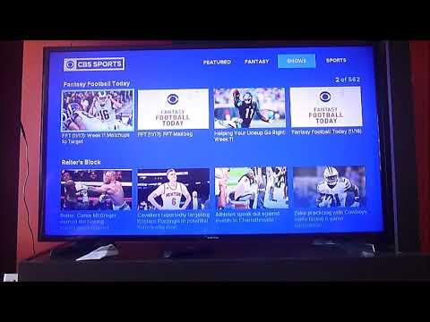 Buscas deportes en Roku? Mira CBS Sports gratis con todo de NFL, MLB, NBA y más!