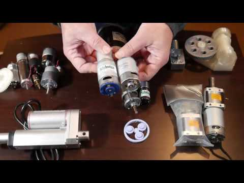 Arduino Robot Projects : Brushed DC Gear Motors, Building BB8 (beginner info)