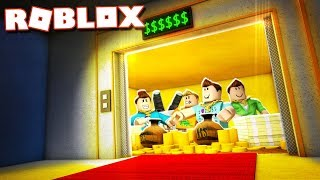 THE LUXURY ELEVATOR IN ROBLOX!