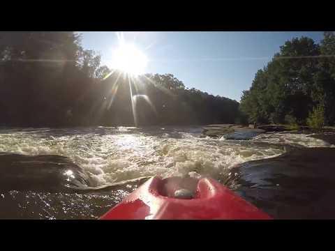 White Water Kayaking with a Normal Kayak