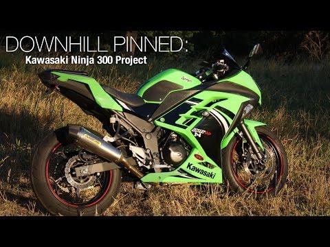 Downhill Pinned: Kawasaki Ninja 300 Project - MotoUSA