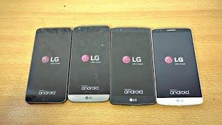LG G6 vs LG G5 vs LG G4 vs LG G3 - Speed Test! (4K)
