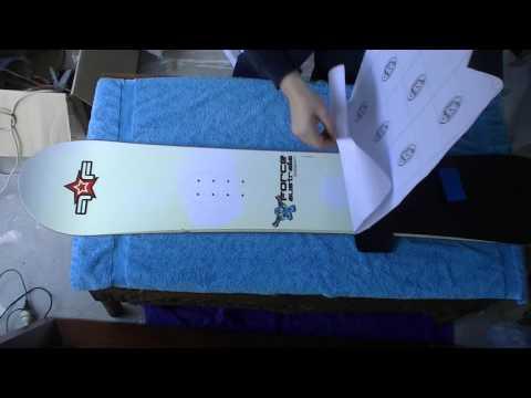 Snowboard Vinyl Wrap
